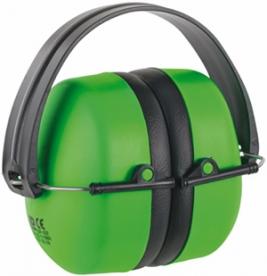 MAX 500 ABS fültok, összecsukható zöld (31052)