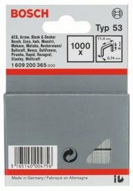 Bosch finomhuzal-kapocs 53-as típus - 11,4 x 0,74 x 8 mm (1609200365)