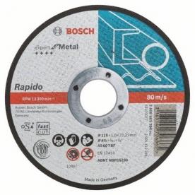 Bosch Expert For Metal darabolótárcsa egyenes, 115x1 mm (2608603394)