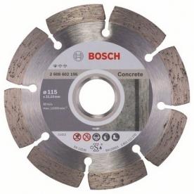 Bosch Standard for concrete gyémánt darabolótárcsa Beton, 115-22,23 (2608602196)