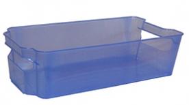 Tároló doboz, műanyag, 31x17x9 cm világoskék