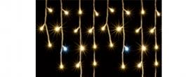 Home LED-es fényfüggöny melegfehér+hidegfehér (KAF 300L 5M)