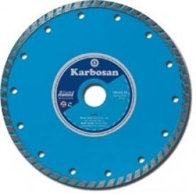 Karbosan Gyémántvágótárcsa turbo 125 x7x2,15x22 mm