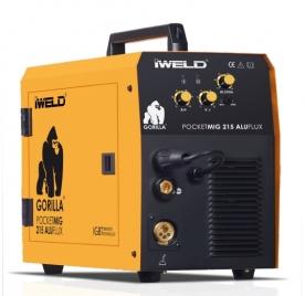 Iweld Gorilla PocketMig 215 Aluflux elektródás hegesztő inverter