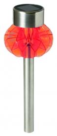 Home napelemes kerti lámpa, narancs (MX 838/OR)