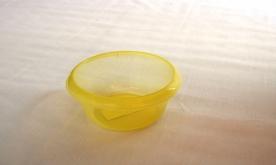 Körtál műanyag 16 cm átlátszó