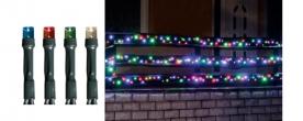 Home LED-es fényfüzér színes, kültéri (KKL 200/M)