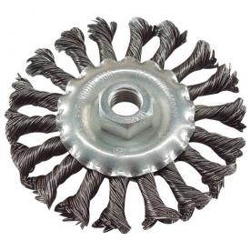 Extol drótcsiszoló körkefe (tányérkefe) 115 mm, sodort (17025)