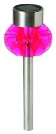 Home napelemes kerti lámpa, pink (MX 838/P)