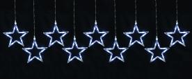 Home LED-es csillag fényfüzér, hidegfehér (KAF 9/5L)