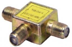 USE F KOAX elosztó, 1 utas (TS 1909)