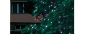 Home LED-es fényfüzér hidegfehér, sorolható kültéri (KTI 200/WH)