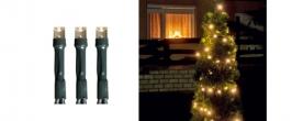 Home LED-es fényfüzér melegfehér, kültéri (LED 208/WW)
