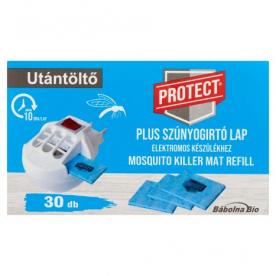 Protect Plus szúnyogirtó lap utántöltő 30 db