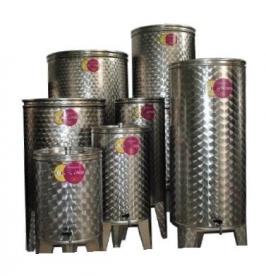 Bortartály rozsdamentes 100 l-es csappal (P100)