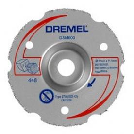 Dremel DSM20 többcélú karbid felsőmaró vágókorong (DSM600) (2615S600JA)