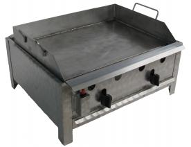BGT-2 kétégős asztali sütő egyoldalú rostlappal, földgáz üzemű