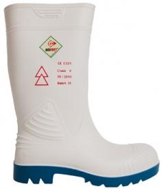 Dunlop Acifort High Voltage villanyszerelő védőcsizma, fehér 44/45-ös (GAND79944)