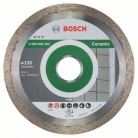 Bosch Standard for Ceramic gyémánt darabolótárcsa Kerámia , 125-22,23 (2608602202)