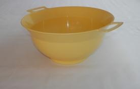 Vájling műanyag 3,5 l- sárga