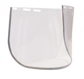 Visor látómező, polikarbonát, fém kerettel 430x195 (60711)