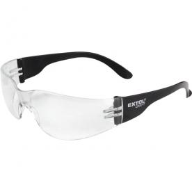Extol védőszemüveg, víztiszta, polikarbonát (97321)