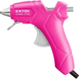 Extol Lady melegragasztó pisztoly, 25 W, pink  (422003)