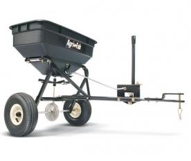 WOLF-Garten vontatható univerzális szórókocsi 45 kg fűnyíró traktorhoz (190-525-000)