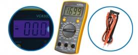 SMA digitális multiméter (VC 830L)