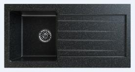 Gorenje Siligor KVE KM-1 gránit mosogatótálca, fekete szemcsés