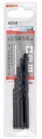 Bosch HSS-R fémfúró készlet 5 részes (2607018351)