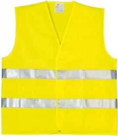 Oxford jól láthatósági mellény, sárga XXL (70203OXF)