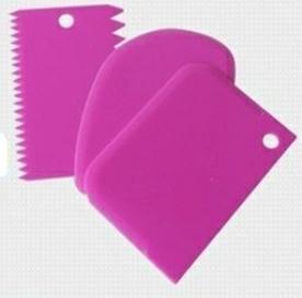 Kenőlapát készlet, 3 db, lila (12389-L)