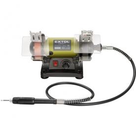 Extol Craft mini kettős köszörűgép, száraz 120W (410112)