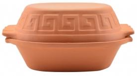 Agyag római tál 4 literes (10471)