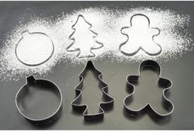 Karácsonyi sütikiszúró készlet 3 db-os (11183)