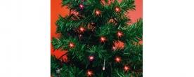 Home LED-es mini fényfüzér piros, kültéri (MLC 88/RD)