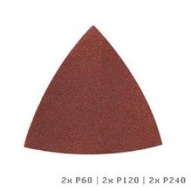 Dremel Multi-Max Csiszolópapír fához (60-as, 120-as és 240-es szemcseméret) (MM70W) (2615M70WJA)