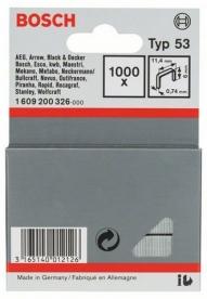 Bosch finomhuzal-kapocs 53-as típus - 11,4 x 0,74 x 6 mm (1609200326)