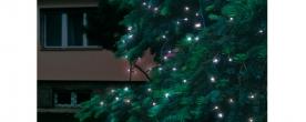 Home LED-es fényfüzér hidegfehér, sorolható kültéri (KTI 100/WH)