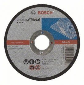 Bosch Standard for Metal darabolótárcsa egyenes, AS 46 S BF, 115 mm, 22,23 mm, 2,5 mm (2608603164)