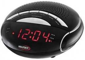 Hauser ébresztőórás rádió CL-8024