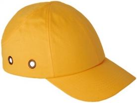 Baseball sapka beépített protektorral, sárga (57303)