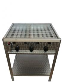 BGS-3 háromégős álló grillező készülék, PB-gáz üzemű