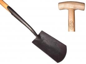DeWit ásó, kovácsolt