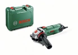 Bosch PWS Universal+ 125 Exkluzív sarokcsiszoló, kofferben (06033A2707)