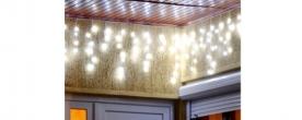 Home LED-es fényfüggöny hidegfehér, kültéri (KAF 400L 20M)