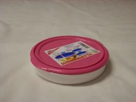 Összenyomható tál, műanyag 0,9 liter pink