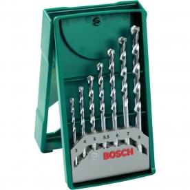 Bosch 7 részes fúrószárkészlet falazathoz (2607019581)