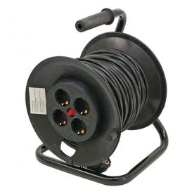 Extol Craft villamos hosszabbító dobra tekerve 25 m (84730)